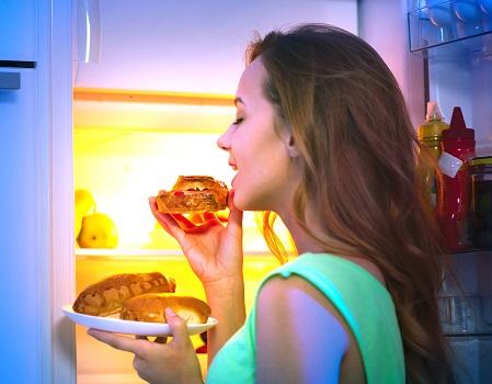 Compulsive eating disorder - photo